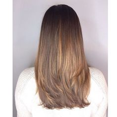 Long layers and balayage :: RedBloom Salon