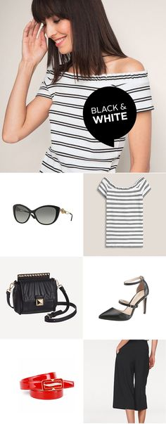 Cateye Brillen wie das stylische Versace Modell lassen den femininen Flair der 50er Jahre wiederaufleben. Die angesagte Culotte-Hose von Tamaris und das Carmen-Shirt von Esprit Casual verwandeln jede Frau in eine moderne Diva. Fehlen nur noch das offene Cabrio, ein Tuch in den Haaren, und ein Ausflug zum Meer.