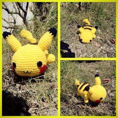 Pikachu (Pokèmon)  By Miya Chan (Miyachan's Creations)