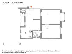 Secret room apartment by Architects/Prague _ BEFORE Secret Rooms, Prague, Architects, Floor Plans, Arquitetura, Building Homes, Hidden Rooms, Chamber Of Secrets, Floor Plan Drawing