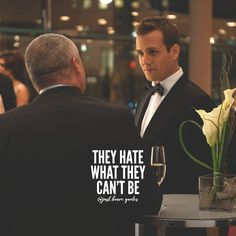 They can't be, and they will never be you! You're unique in your own way, that's why you stand out. #justbravequotes #harveyspecter #suits #haters #hatersgonnahate #quote #quotes #motivation #inspiration #grind #hustle #motivationalquotes #inspirationalquotes