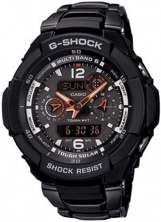1f849f61c411 Casio Mens G-Shock Premium Gravity Defier Alarm Chronograph watch  499.00