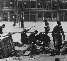 Schietpartij op de Dam, 7 mei 1945