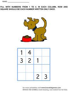Sudoku de nombres