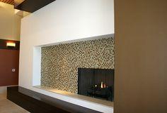 Velocity Building Lounge Fireplace