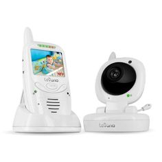 Levana Jena Digital Baby Video Monitor with 8 Hour Rechargeable Battery and Talk to Baby Intercom 32111 (White) from Levana $89.99
