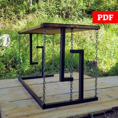 Welded Furniture, Steel Furniture, Tv Furniture, Microsoft, Table Diy, Floating Table, Outdoor Furniture Plans, Diy Wood Projects, Cool Welding Projects