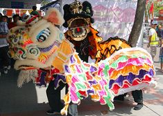 Luen Fat Cheung Lion Dance, Dragon Head, Foo Dog, Chinese Culture, Martial Arts, Fat, Museum, Dogs, Image