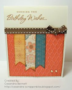 Clementine Birthday Card by cass768 - Cards and Paper Crafts at Splitcoaststampers