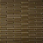 """Found it at Wayfair - 4"""" x 1/2"""" Glass Tile in Java"""