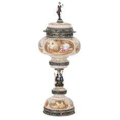 Modern Decorative Bowls, Renaissance Paintings, Bowl Designs, Renaissance Fashion, Silver Work, Silver Enamel, Crafts, 19th Century, Interiors