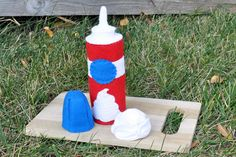 Felt Play Food Whipped Cream Container