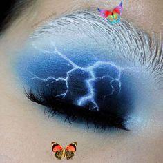 Beatiful 12 Creative Makeup Looks You Need To Try  Society19 Eye Makeup Beatiful Creative Eye Makeup art Makeup Society19<br> Brown Skin Makeup, Bronze Eye Makeup, Orange Makeup, Eye Makeup Art, Creative Makeup Looks, Simple Makeup, Creative Art, Linda Hallberg, Purple Smokey Eye