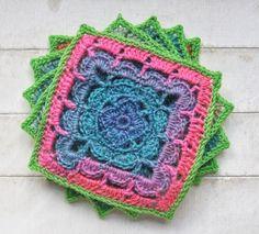 Beautiful Shell Collection crochet pattern using Scheepjes Invicta yarn