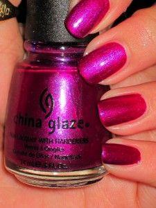 China Glaze - Draped in Velvet