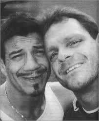 Eddie Guerrero & Chris Benoit. Very good friends & great wrestlers. RIP