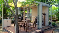 森の中に佇む隠れ家のような庭の施工事例 - GardenStory (ガーデンストーリー)