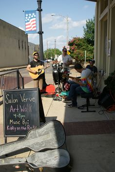 You don't want to miss the music of Risky on the Rocks in Downtown Tyler.