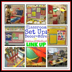 RainbowsWithinReach: Classroom Set-Up + A Letter from Home
