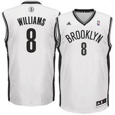 Deron Williams Brooklyn Nets adidas Replica Home Jersey - White a86ab0646