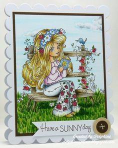Copic Marker Europe: A Summery Card Skin/Haut: E0000, 000, 00, 11  Hair/Haar: E31, Y11, 21, YR23  Shirt: V0000, 000, 01, BV20  Trousers/Hose: C0, 1, 3, G28, R43, 46  Raspberries/Himbeeren: G28, R43, 46  Roses/Rosen: R43, 46, YG17  Other flowers/andere Blumen: B21, 24, C0, 1, 3, Y15  Book/Buch: B91, 93, E51, 53, Y15  Bird/Vogel: B91, 93, 95, 97  Sky and clouds/Himmel und Wolken: BG0000, 000, C0, 1, 3, blender  Grass/Gras: YG13, 17, 67, 91, 93  Bench/Bank: E40, 41, 43, 44