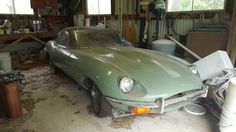 Barn Stored For 40 Years! 8,357 Mile E-Type - http://barnfinds.com/barn-stored-for-40-years-8357-mile-e-type/
