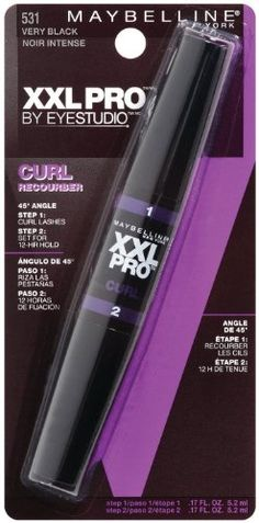 Maybelline New York XXL Curl Washable Mascara Very Black 531 034 Fluid *** You can find out more details at the link of the image.