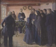 Becoming Edvard Munch: Influence, Anxiety, and Myth: A Funeral, 1891