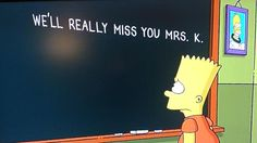 'The Simpsons' Pays Touching Tribute To Marcia Wallace, Edna Krabappel The Simpsons, Ei Nerd, Cinema, Opening Credits, Great Tv Shows, Futurama, Animated Cartoons, Best Tv, Bart Simpson