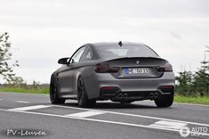 BMW M4 spotted in Frozen Grey - http://www.bmwblog.com/2014/08/19/bmw-m4-spotted-frozen-grey/
