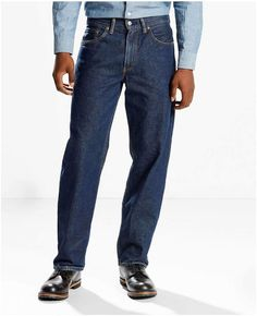Levi's 550 Big & Tall Relaxed-Fit Jeans Tall Men Fashion, Mens Fashion, Big & Tall Jeans, Top Clothing Brands, Tall Guys, Mens Big And Tall, Dress To Impress, Plus Size Fashion