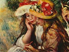 jeunes lectrices, Auguste Renoir -