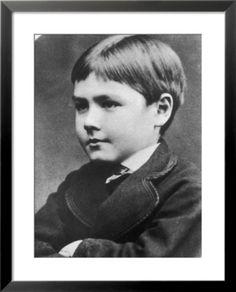 Rudyard Kipling as a boy.