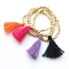 In a few steps to irresistible jewelry with fringe - Get Sparkly│Prvi and only blog about jewelry in the Balkans