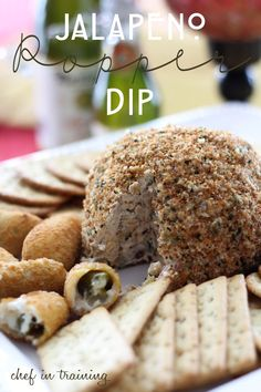 Update: Made this Jalapeño Popper Cheese Ball for New Years Eve- I should have made two- It was so good!!!!