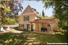 FranceHouseHunt: Established Gite Property for Sale,, For Sale Listing Details French Property, Property For Sale, Cabin, Mansions, House Styles, Outdoor Decor, Live, Home Decor, My Dream House