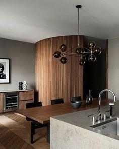 Vintage Furniture, Modern Furniture, Furniture Design, Elegant Kitchens, Scandinavian Interior, Danish Interior Design, Danish Design, Mid Century Modern Design, Eclectic Decor