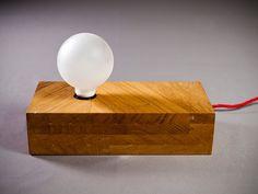 """solid wood lamp """"billet"""""""
