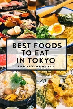 In this Tokyo Food Guide, you'll find our recommendations on 20 top best foods to eat in the city! From the best sushi to the latest food craze to iconic street foods, these are the unmissable foods you must try when visiting Tokyo. Teppanyaki Restaurants, Sushi Restaurants, Japanese Street Food, Thai Street Food, Japanese Food, Japanese Style, Vegetarian Recipes, Cooking Recipes, Healthy Recipes