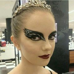 Black swan makeup guide