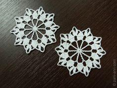 Crochet snowflake free pattern