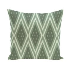 Decorative Outdoor Geometric Tribal Diamond 20-inch Pillow