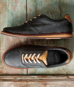 Effortlessly Cool Men's Footwear - Rucker Park Oxfords - Carbon2Cobalt