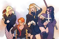 birds of prey by ASTRO http://nogutsnoglory.tumblr.com/