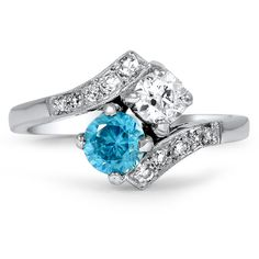 14K White Gold The Ariana Ring from Brilliant Earth