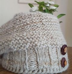 Arctic Alpaca Hat Pattern | This hat knitting pattern is so cute and snuggly.