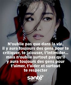 Il faut de tout pour faire un monde … It takes everything to make a world Some Quotes, Best Quotes, Quote Citation, French Quotes, Positive Attitude, Positive Affirmations, Beautiful Words, Sentences, Decir No