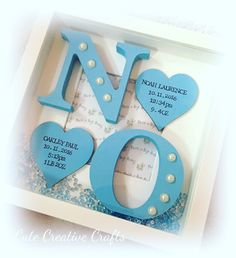 Gorgeous Handmade Frames, Perfect For Twins.