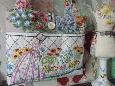 A great way to repurpose crochet doilies is to turn them into pockets on pillows or other suitable objects. Description from pinterest.com. I searched for this on bing.com/images
