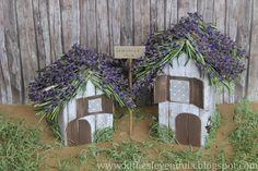Croissant y lavanda Croissant, Lavender Crafts, Kids Crafts, Home Art, Craftsman, Paper Crafts, Crafty, Bird, House Styles
